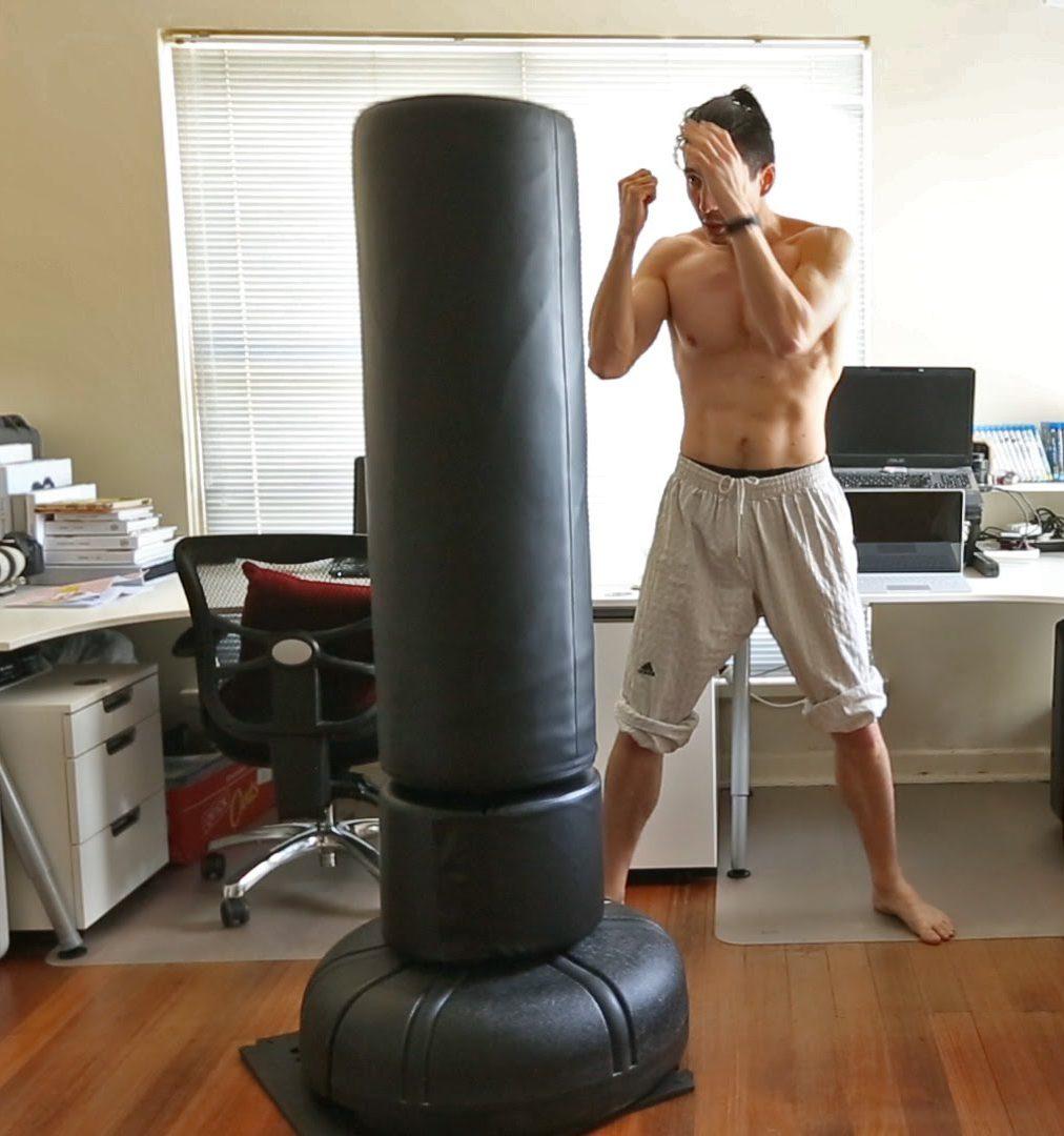 RDX Sac de Frappe Uppercut Non REMPLI Lourd Corps Punching Ball MMA Vide Muay Thai Kickboxing Arts Martiaux Adulte Punching Bag Entrainement