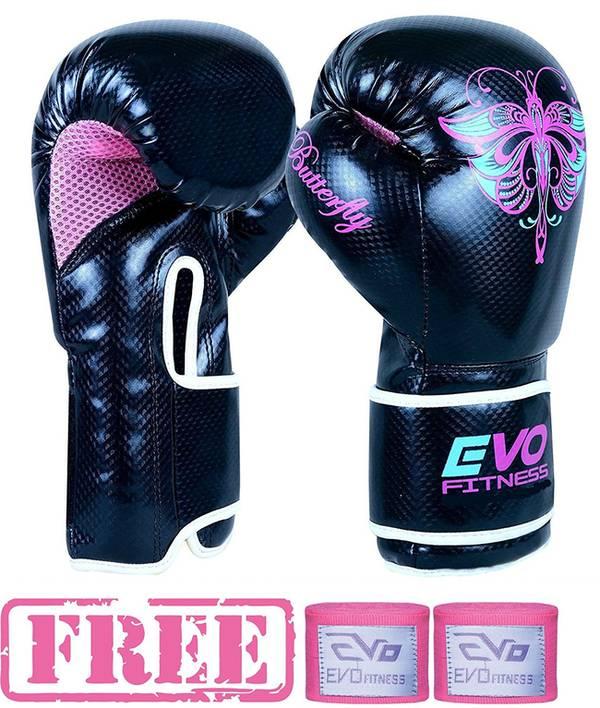 Evo Fitness Femmes Rose GEL Rex Cuir en Promo -21%