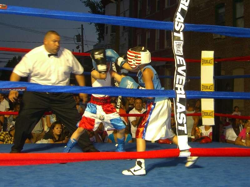 boxe combats enfants