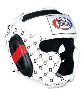 casque boxe thai fairtex super sparring