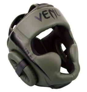 casque boxe thaï Venum Elite vert