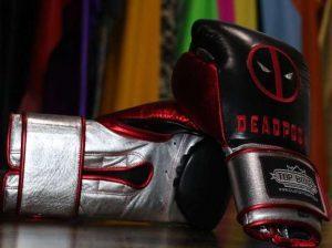 gants deedpool topboxer sur-mesure