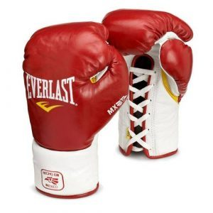 gants Everlast MX Pro fight rouge
